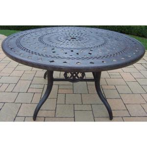 Aluminum Round Outdoor Dining Table by
