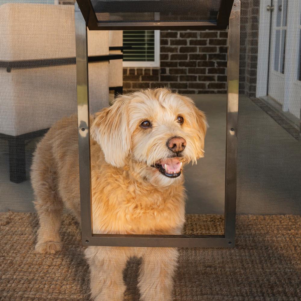 8 in. x 9-1/4 in. Pet Screen Door
