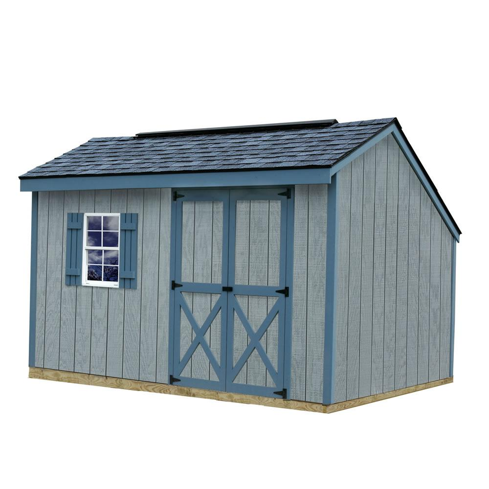 Best Barns Aspen 8 Ft X 12 Wood Storage Shed Kit With Floor