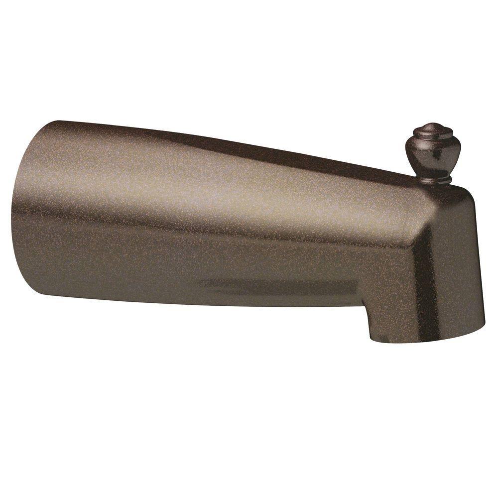 MOEN Diverter Tub Spout in Oil Rubbed Bronze