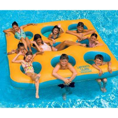 Labyrinth Island Inflatable Pool Toy