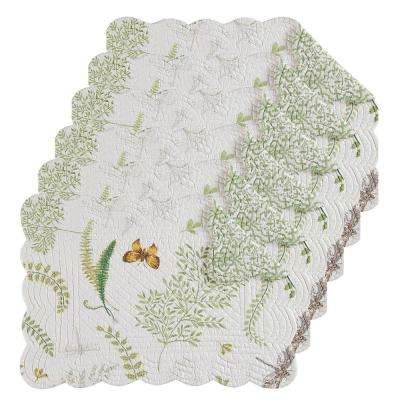 Althea Green Placemat (Set of 6)