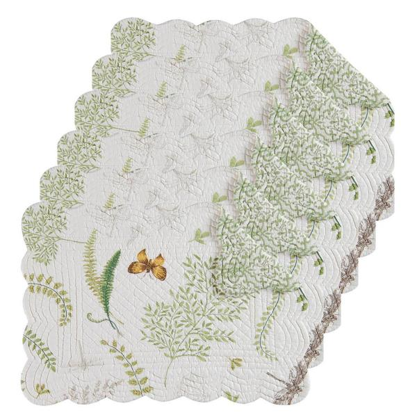C & F Home Althea Green Placemat (Set of 6) 862621673S6