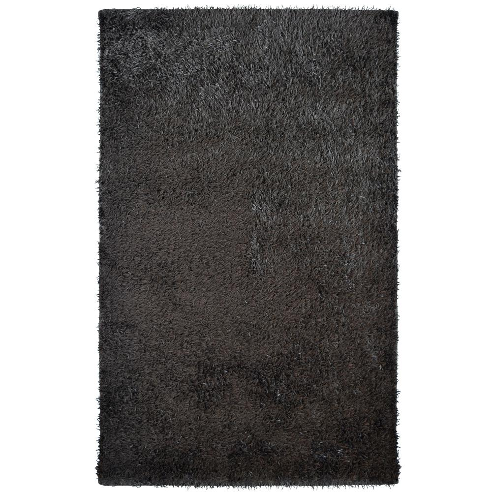 City Sheen Espresso 6 ft. x 11 ft. Area Rug