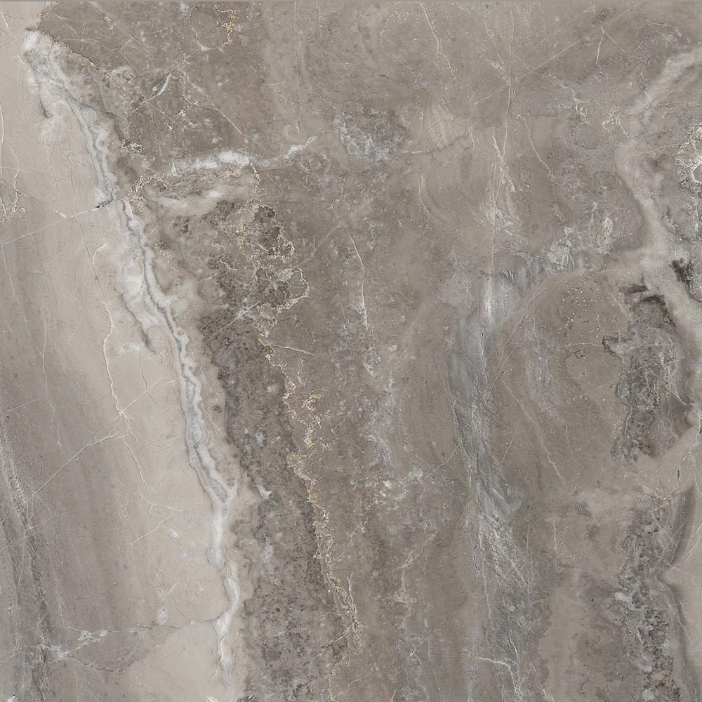 Daltile Marble View Marble Storm Matte 3 In X 24 In