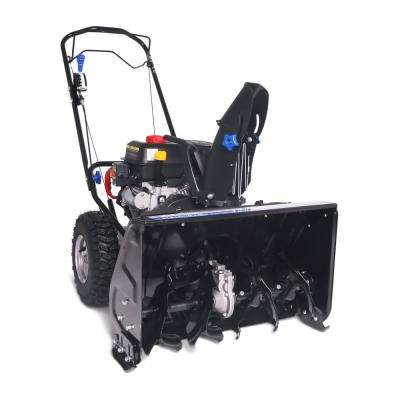 24 in. Two-Stage Electric Start 212 cc Gas Snow Blower Self Propelled