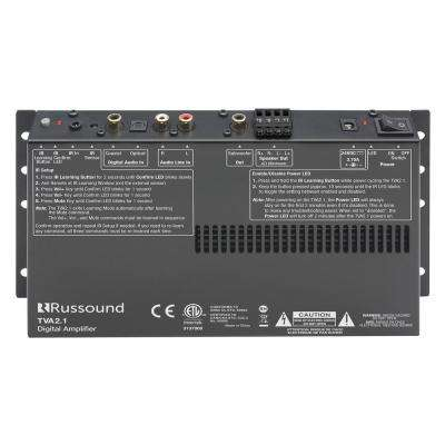 Digital 2-Channel TV Amp with IR Learning and Sub Output