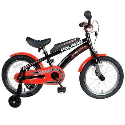 Edge LX160 Kid's Bike, 16 in. Tires, 11 in. Frame, Boy's Bike in Black/Red