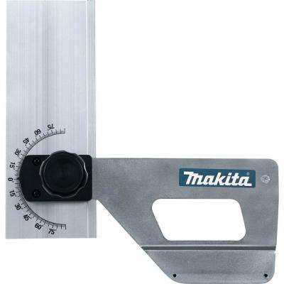 Miter Guide Set for use with Makita Plunge Circular Saws SP6000J, SP6000J1 and w/ Makita guide rails 194368-5, 194367-7
