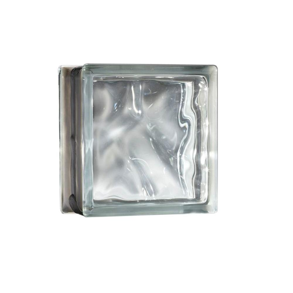 Pittsburgh Corning 8 in. x 8 in. x 3.5 in. Decora Energy Efficient Glass Block 8/CA