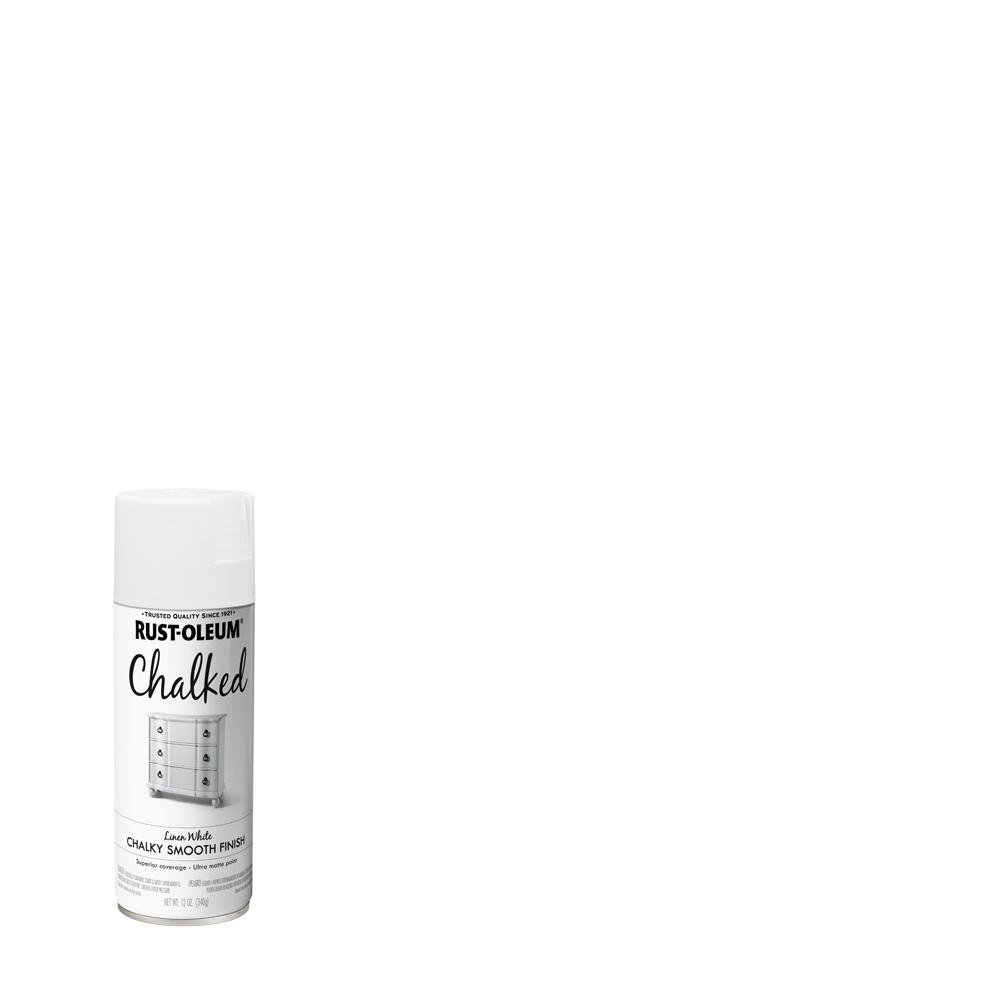 12 oz. Chalked Linen White Ultra Matte Spray Paint