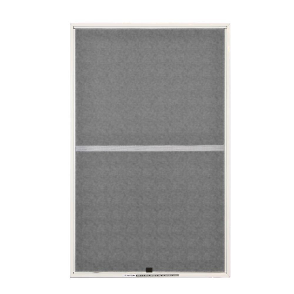 Andersen 31 7 8 in x 38 27 32 in white aluminum insect for Home depot window screens