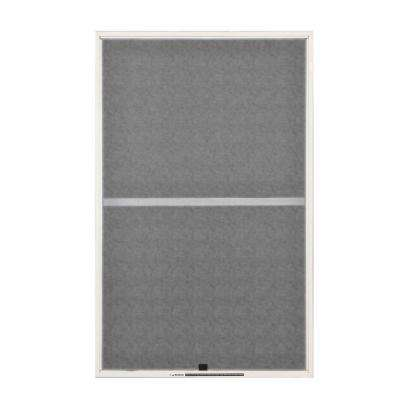 31-7/8 in. x 38-27/32 in. White Aluminum Insect Screen