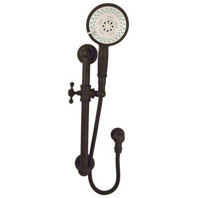Tub and Shower 3-Function Wall Bar Shower Kit in Oil Rubbed Bronze