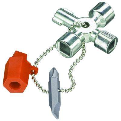 3-1/2 in. Universal Control Cabinet Key
