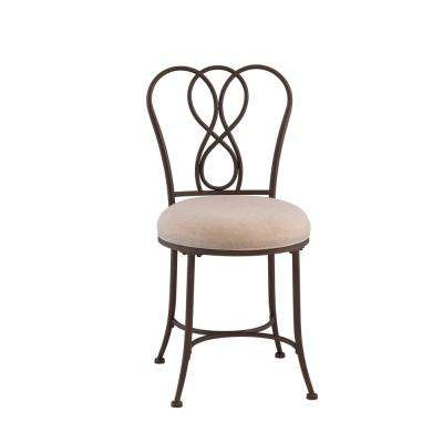 Christina Bronze Vanity Stool