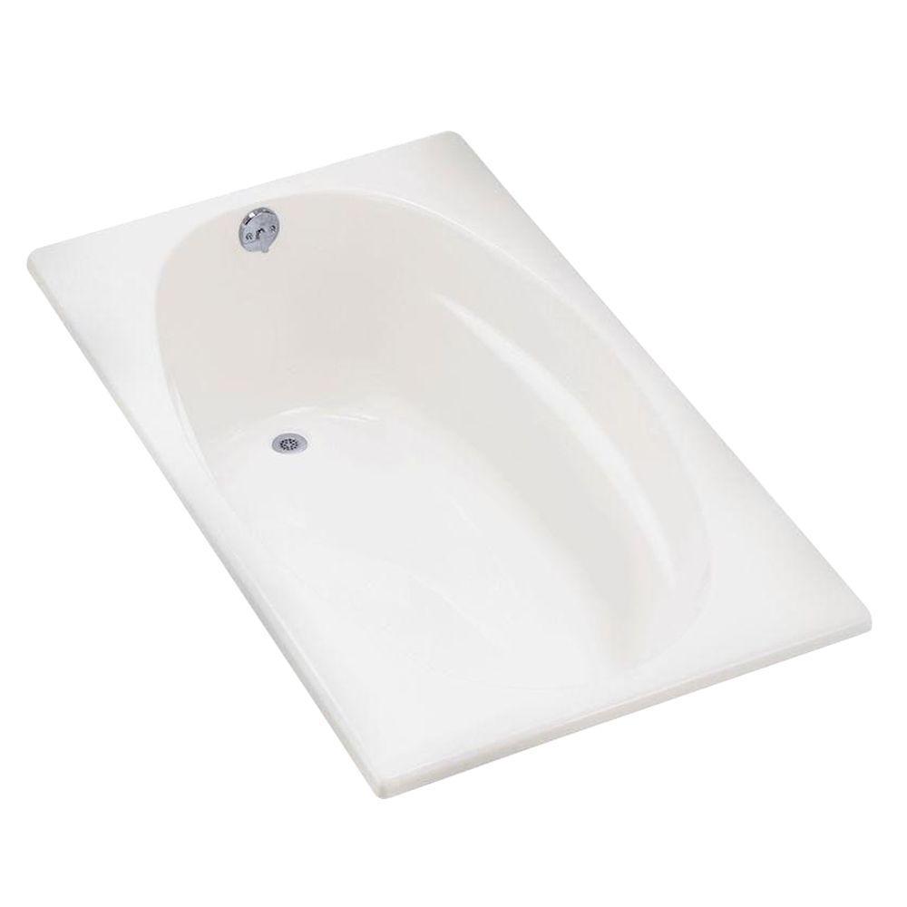 ProFlex 5 ft. Right-Hand Drain Bathtub in White