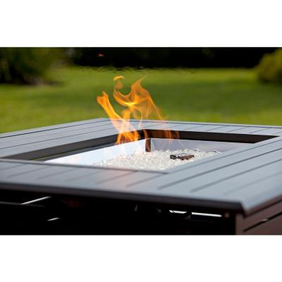 Longmont 49 in. x 35 in. Rectangular Extruded Aluminum LPG Fire Pit