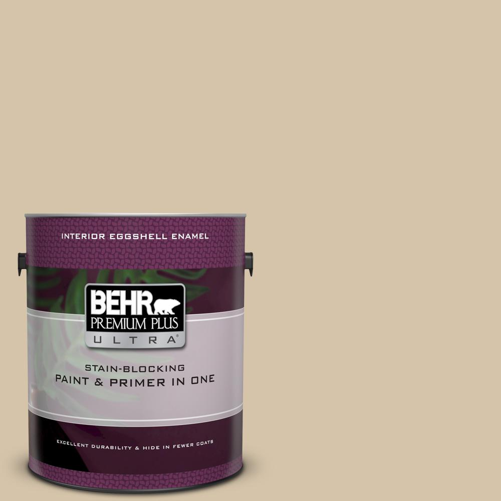 Icc 60 Brown Bread Eggshell Enamel Interior Paint And Primer In One
