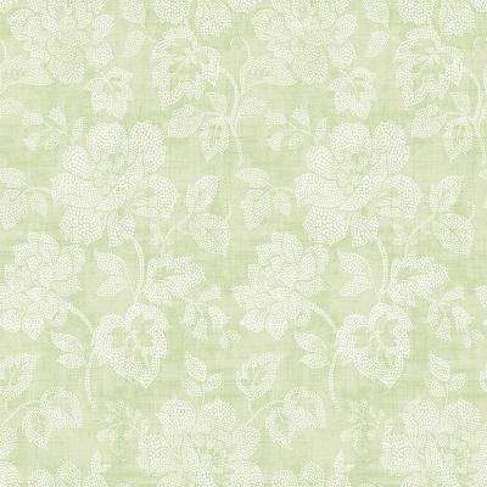 Tivoli Sage Floral Wallpaper