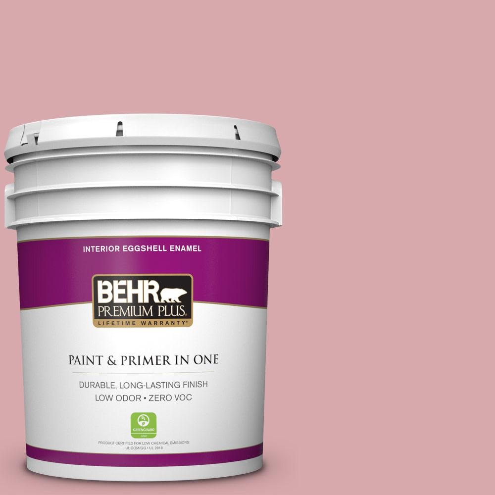 BEHR Premium Plus 5-gal. #S140-3 Berry Crush Eggshell Enamel Interior Paint