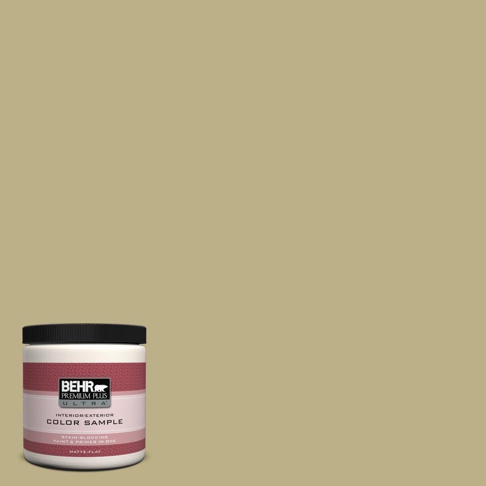 BEHR Premium Plus Ultra 8 oz. #390F-5 Ryegrass Interior/Exterior Paint Sample