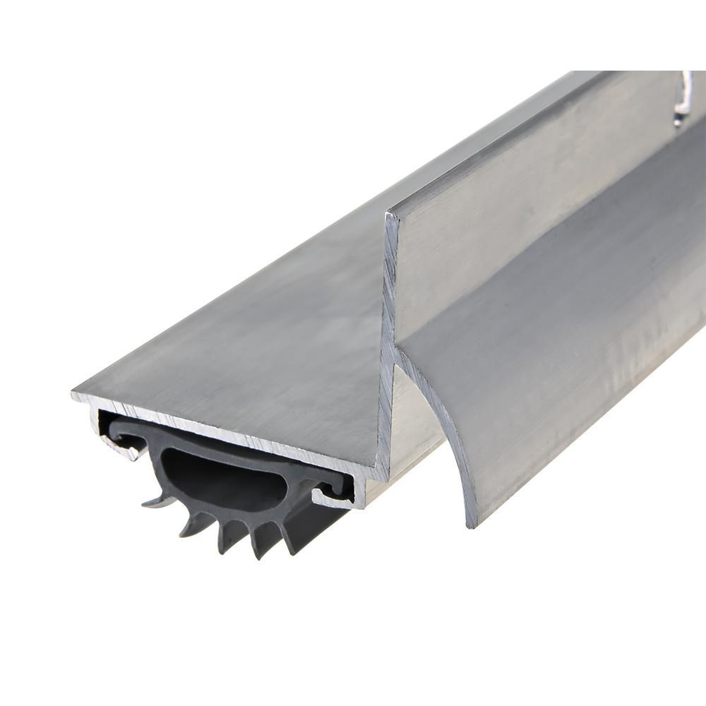 1-1/4 in. x 36 in. Silver Drip Cap L-Shape Door Bottom