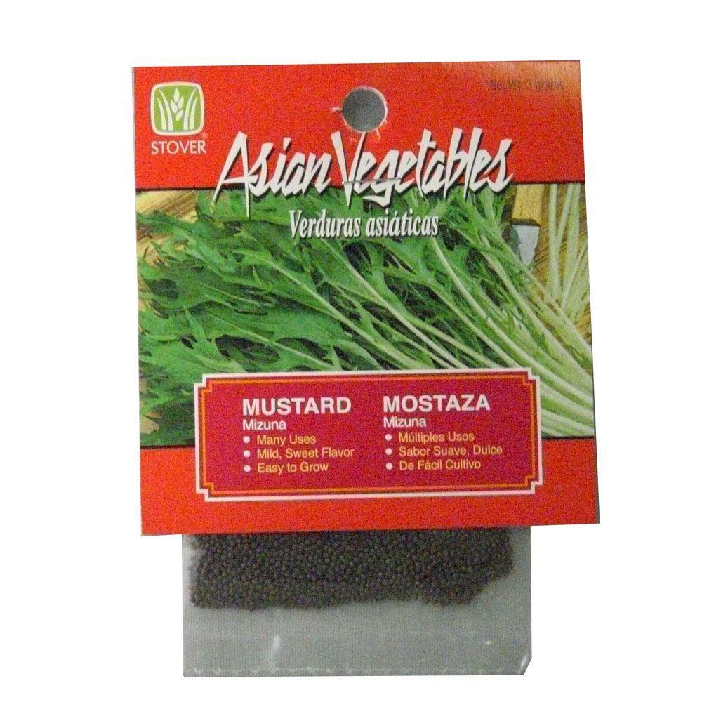 Asian Mustard Mizuna Seed