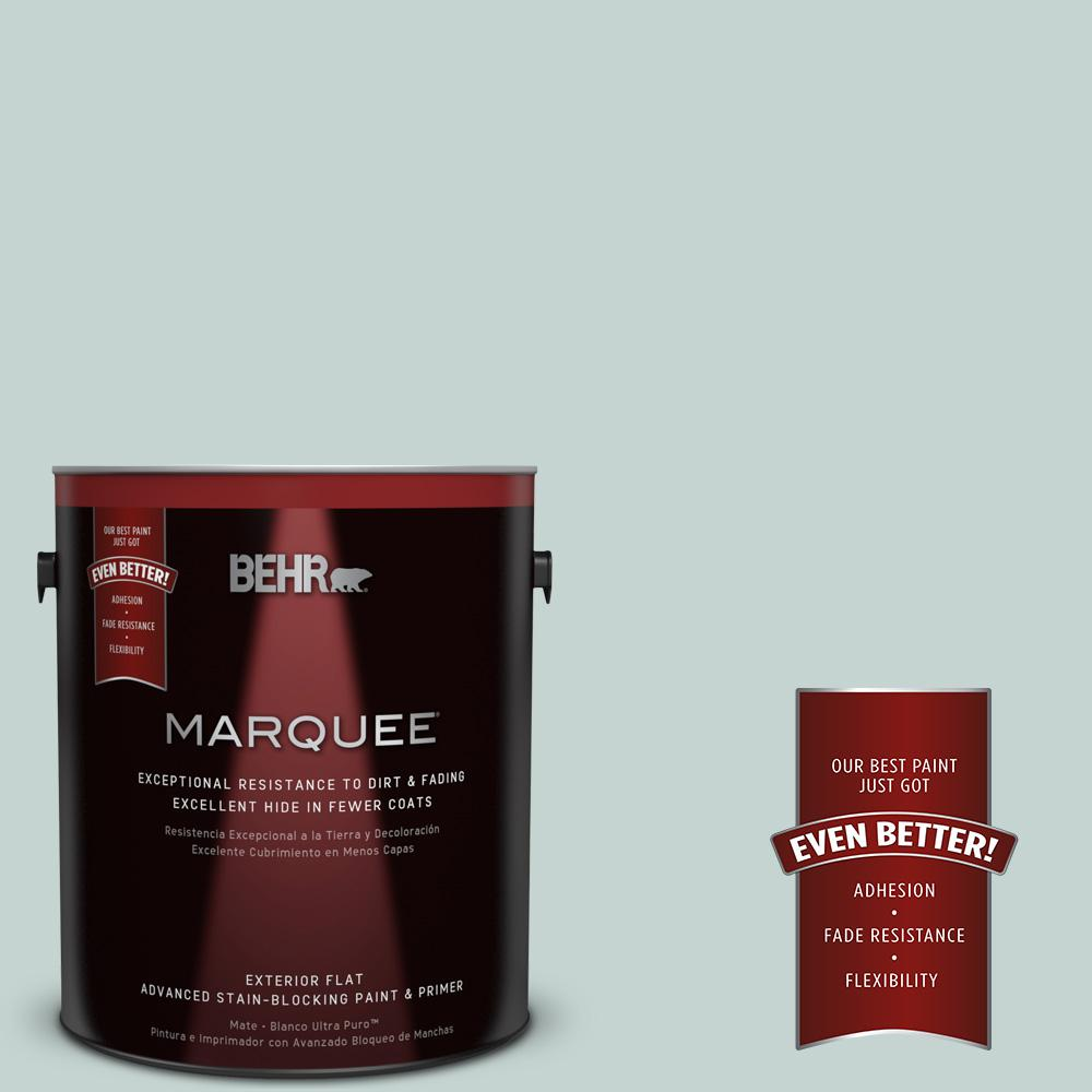 1-gal. #490E-3 Celtic Gray Flat Exterior Paint