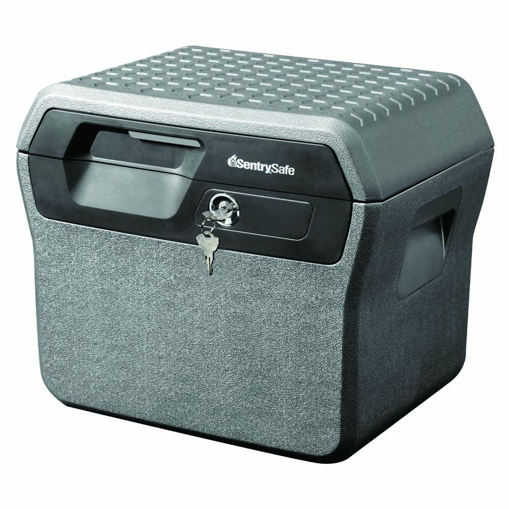 0.66 cu. ft. Fire and Water Resistant File Safe, Charcoal Grey