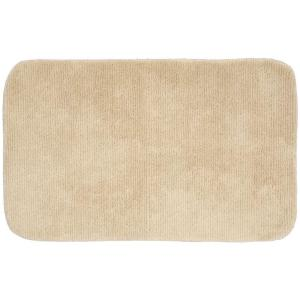 Glamor Linen 24 In. X 40 In. Washable Bathroom Accent Rug