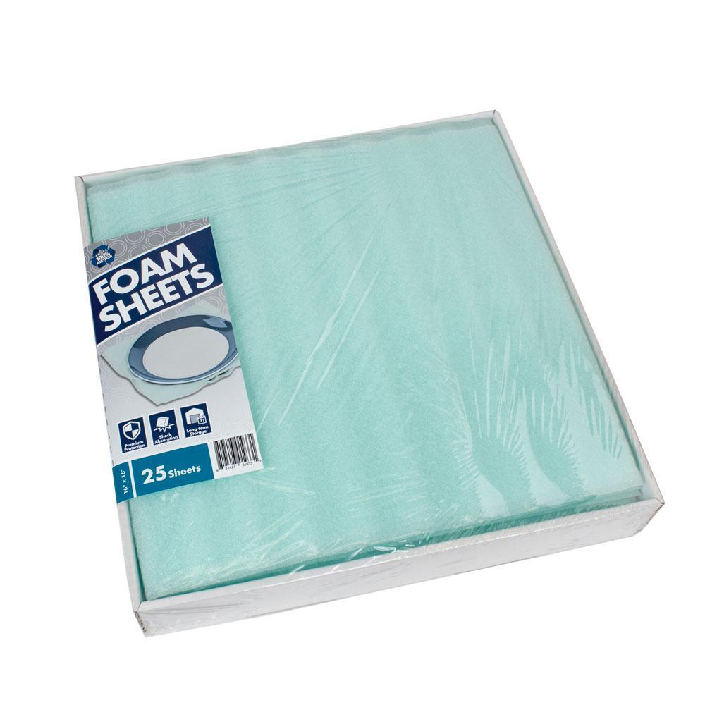 16 in. x 16 in. Premium Foam Sheets (25-Pack)