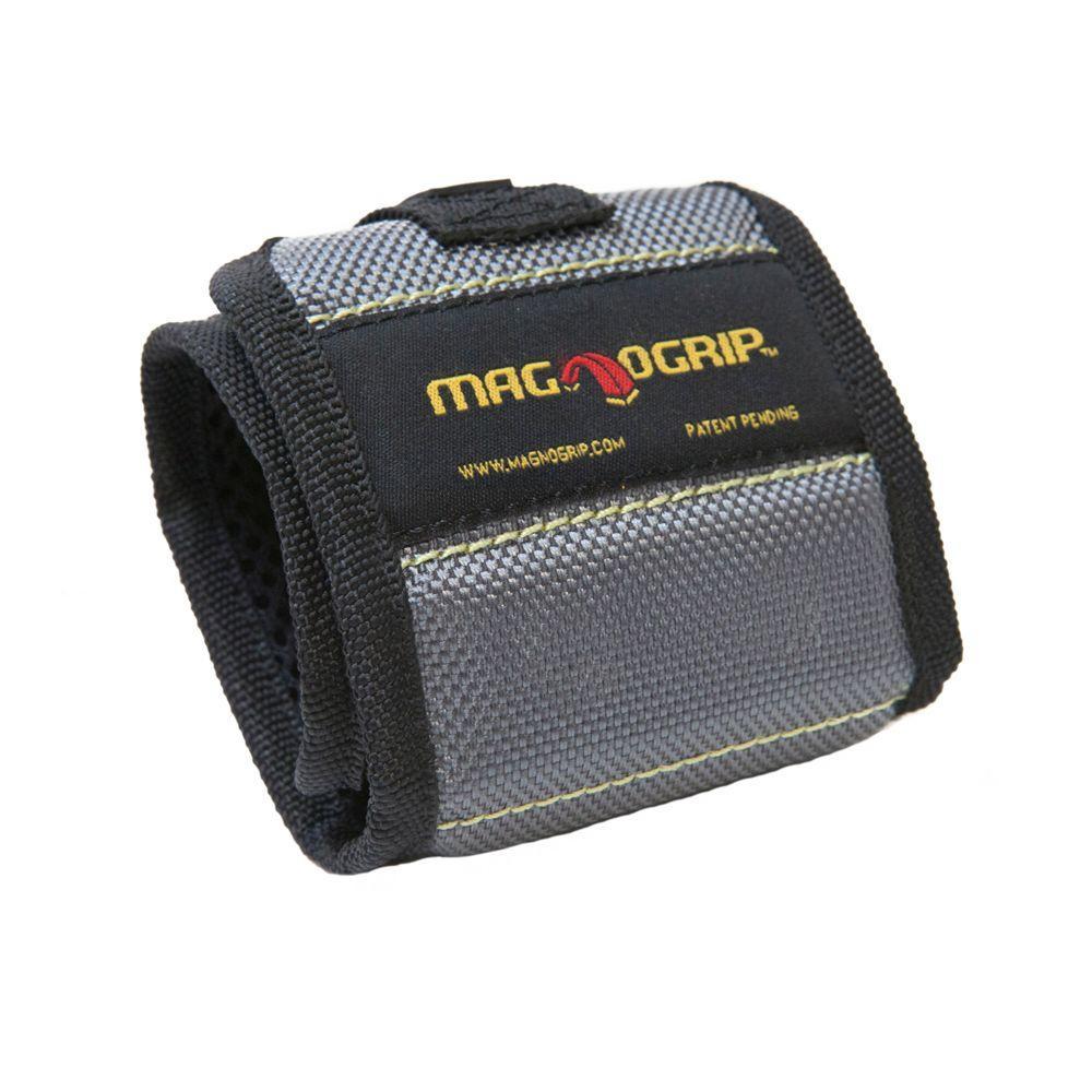 Pro Magnetic Wristband Nail Holder, Platinum