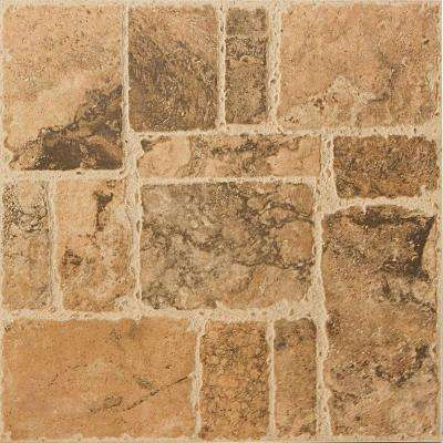 Vero Clay 18 in. x 18 in. Ceramic Floor Tile (15.40 sq. ft. / case)