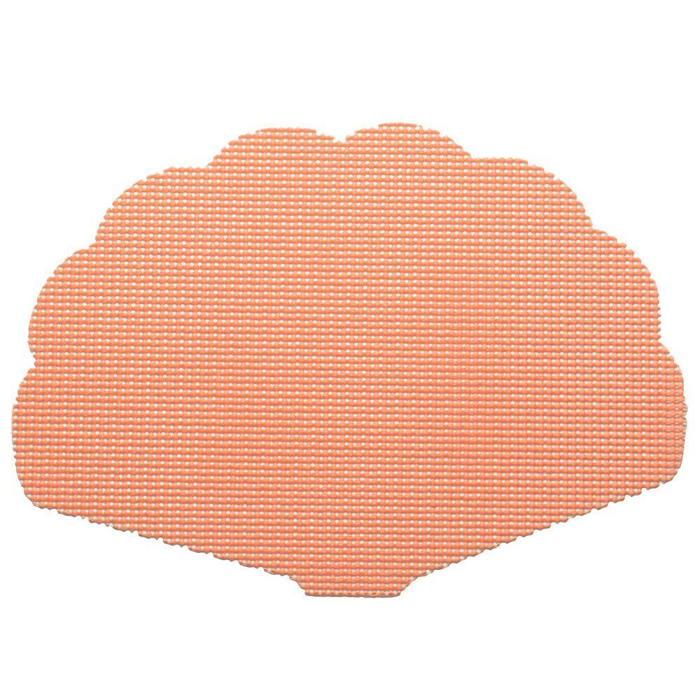 Kraftware Fishnet Shell Placemat in Sweet Melon (Set of 12)-DISCONTINUED
