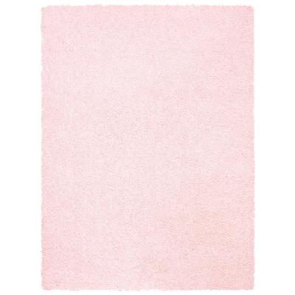 Primo Shag Light Pink 8 ft. x 10 ft. Area Rug
