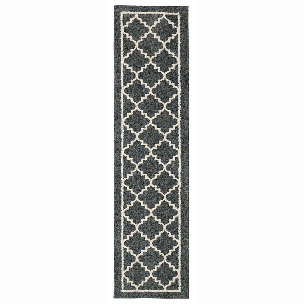 Home Decorators Collection Winslow Dark Slate 2 Ft X 8 Indoor Runner Rug