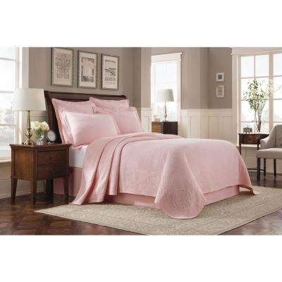 Williamsburg Abby Shell Twin Coverlet