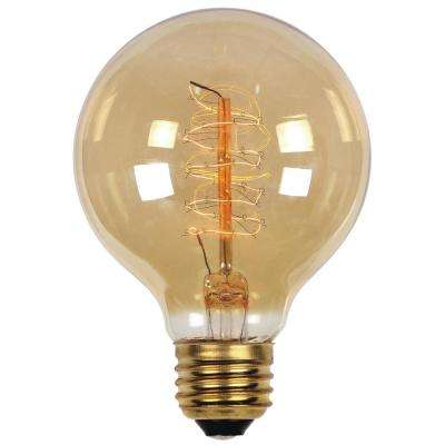 40-Watt Timeless Vintage Inspired Incandescent G25 Light Bulb