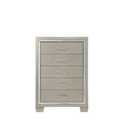 Wood - Chest of Drawers - Beige - Dressers & Chests - Bedroom ...