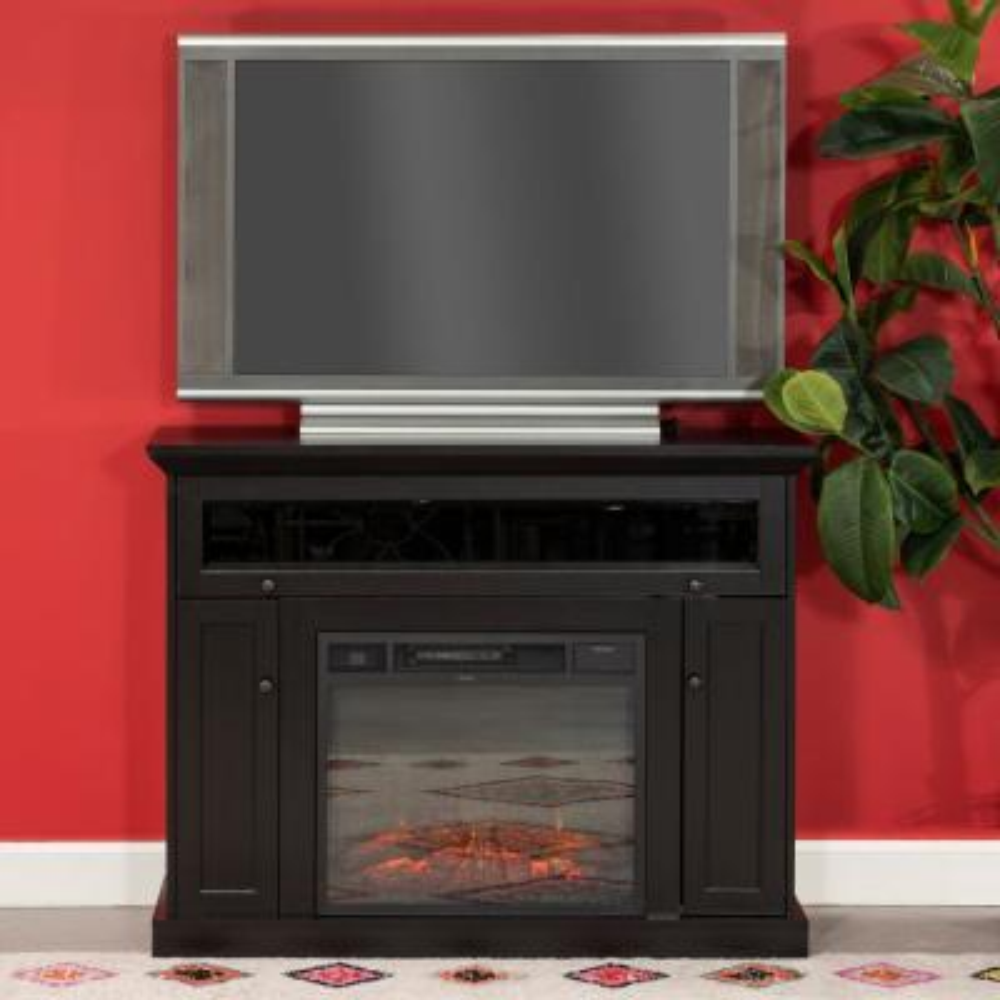 Home Source Taylor Dark Espresso TV Stand