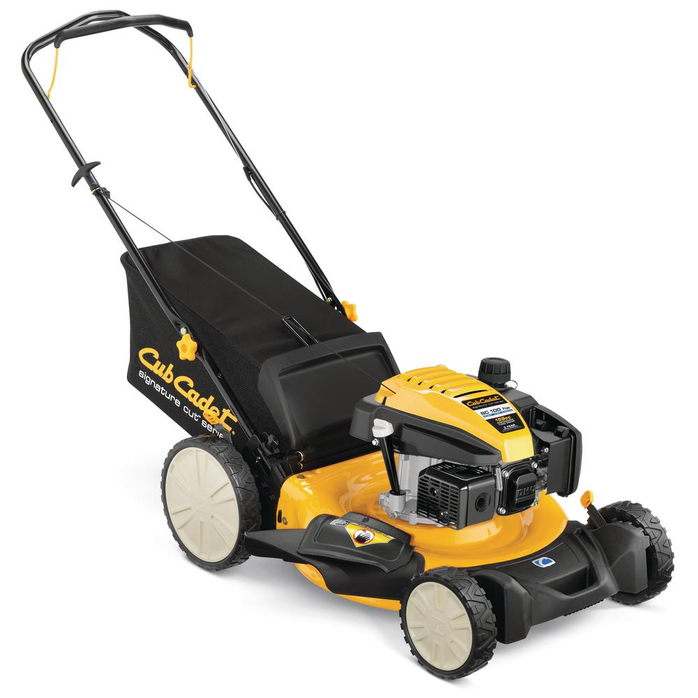 Cub Cadet 21 in. 159 cc 3-in-1 High Rear Wheel Gas Walk-Behind Push Mower