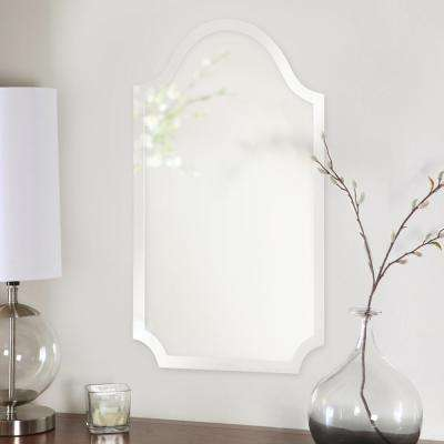 Frameless Arched Mirror