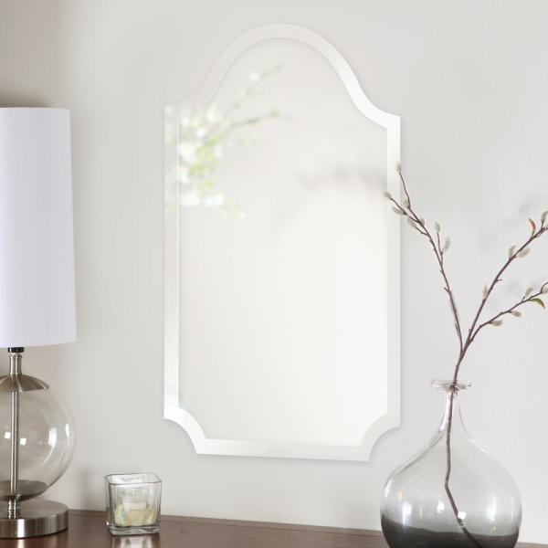 Howard Elliott Collection Frameless Arched Mirror