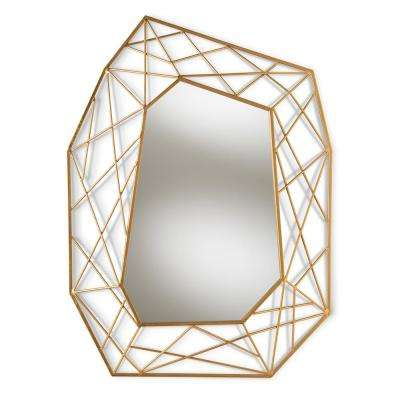 Oriana Antique Gold Wall Mirror