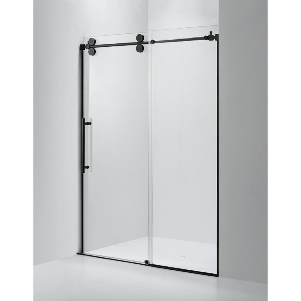 Dreamwerks 60 In X 79 Frameless Sliding Shower Door