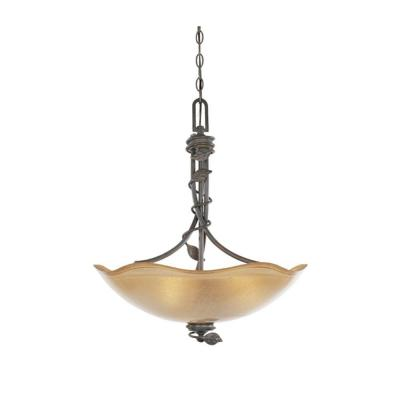 Timberline 3-Light Old Bronze Hanging/Ceiling Light