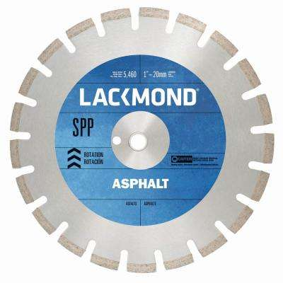 SPP Series Asphalt/Block Blade 12 in. x .125 in. - 1 in. 20 mm Arbor
