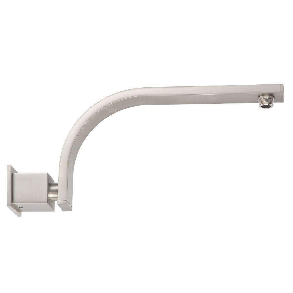 Shower Arm In Brushed Nickel
