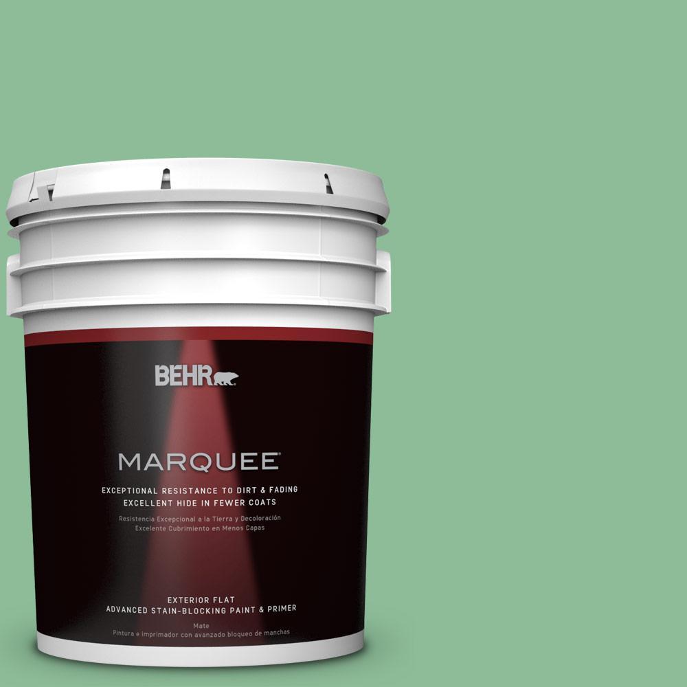 BEHR MARQUEE 5-gal. #M410-4 Garden Swing Flat Exterior Paint